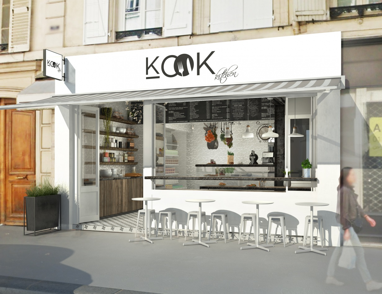 Kook restauration rapide t design architecture
